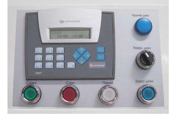 Тестомесильная машина Прима 160 панель управления