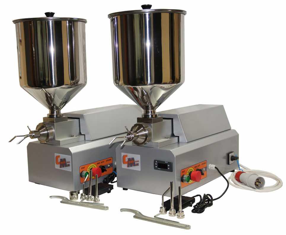 Поршневые дозаторы-наполнители CONFIMEC RP-15S / RP-15ST