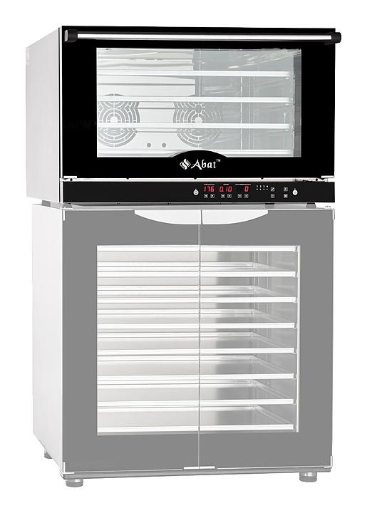 Конвекционная печь Abat КЭП-4Э с расстоечным шкафом