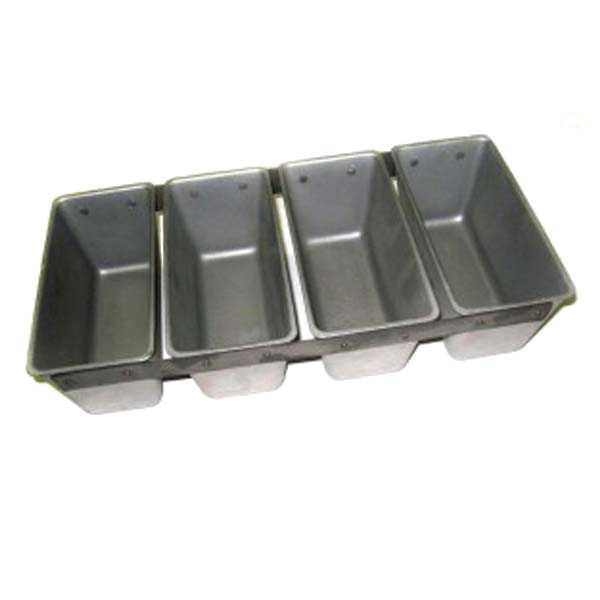 Хлебные формы, собранные в кассету