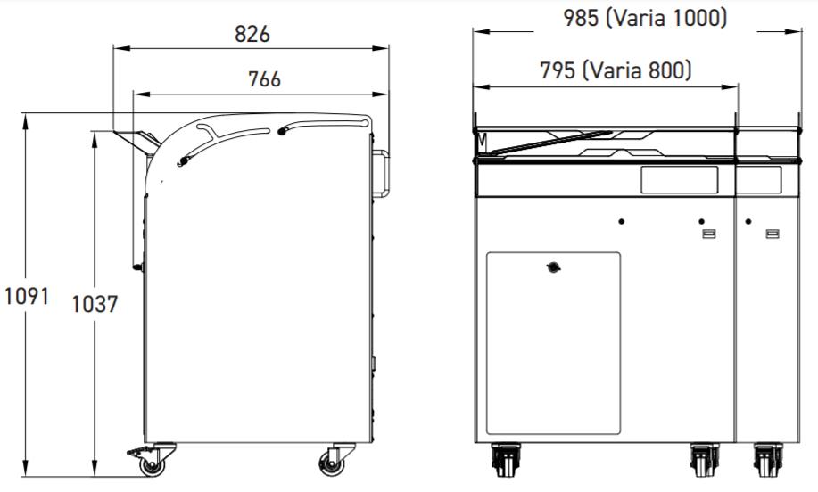 Хлеборезательная машина JAC Varia Pro