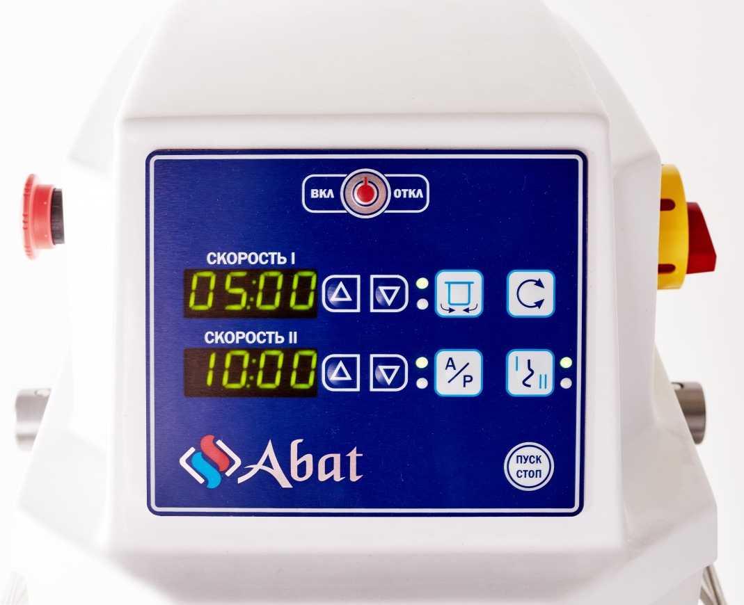 Тестомесильная машина Abat ТМС-120НН-2П