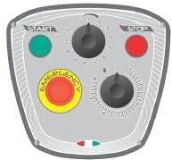 Миксер планетарный Starmix PL20BNVF панель управления