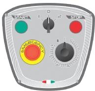 Миксер планетарный STARMIX PL20BN2F панель управления