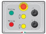 Миксер планетарный STARMIX PL140NVAF панель управления