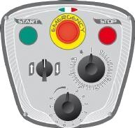 Миксер планетарный STARMIX PL80NVAF панель управления