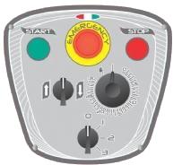Миксер планетарный Starmix PL80N3AF панель управления