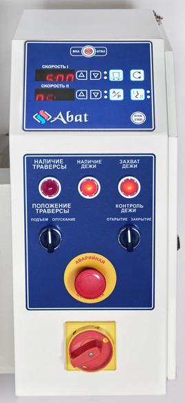 Тестомесильная машина Abat ТМС-120СП-2П Панель управления