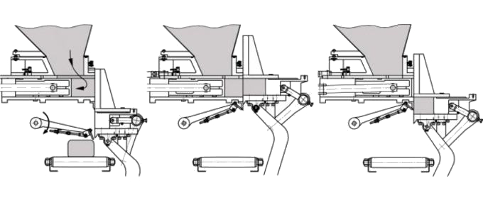 Тестоделитель Восход-ТД-5 цикл работы